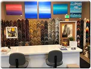 Gallery Framing, Ltd Showroom 2019